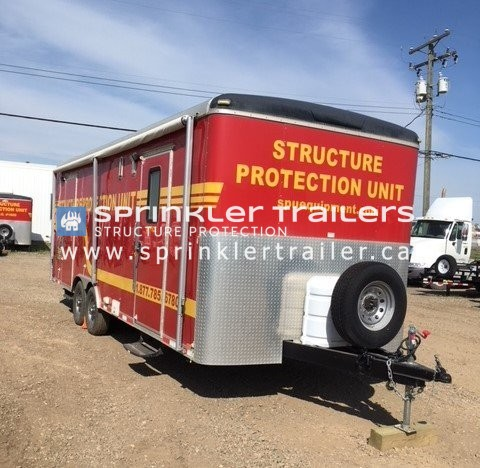 Sprinkler Trailer Outside
